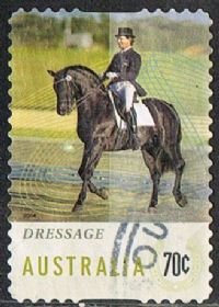 Australia 2014 Horse Sports 70c type 5 self adhesive good/fine used